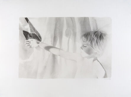 Joyce Tenneson, 'Alex Holding Wing', 1979