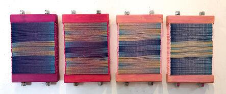 Susan Hensel, 'Chromatic Book Blocks - Pink', 2021