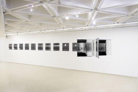 G. Roland Biermann, 'snow+concrete XII, XV, XIV, X', 2012-2013