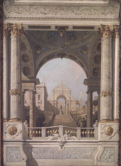 Canaletto, 'Stage design', XVIII secolo