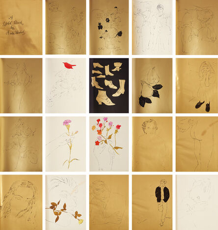 Andy Warhol, 'A Gold Book (F. & S. IV.106-124)', 1957