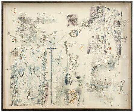 Gianfranco Baruchello, 'Gli organi interni delle persone giuridiche', 1964