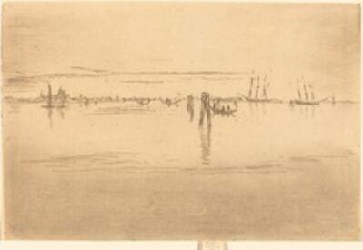 James Abbott McNeill Whistler, 'Long Lagoon', 1880