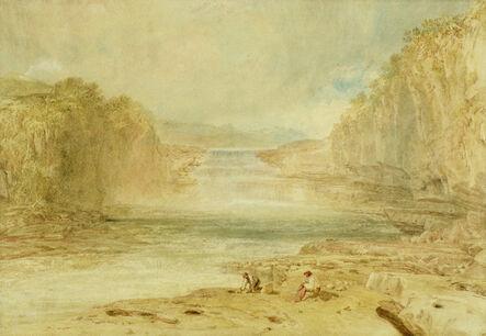 J. M. W. Turner, 'Aysgarth Force, Richmondshire', 1817