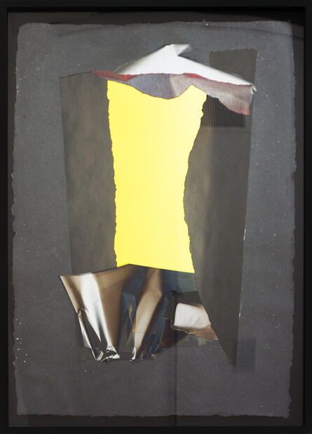 Larry Bell, 'Mirage Vapor Drawing #246B', 1990
