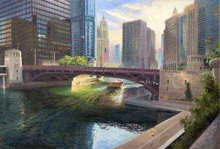 Art Chartow, 'Chicago River at State Street', 2020