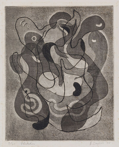 Nassos Daphnis, 'Flirtation', 1948