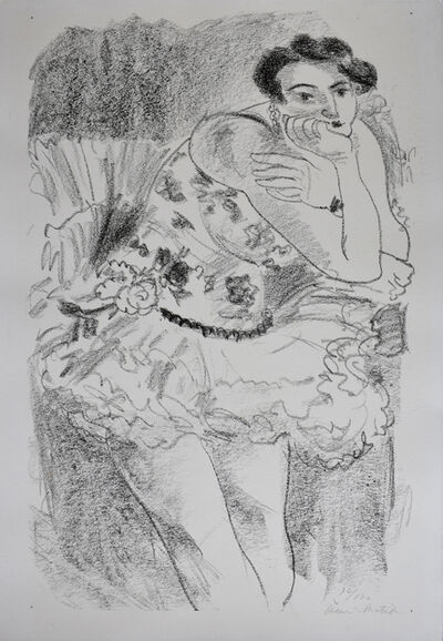 Henri Matisse, 'Standing Dancer, Leaning, from: Ten Dancers | Danseuse debout, accoudée, Dix Danseuses', 1925/26