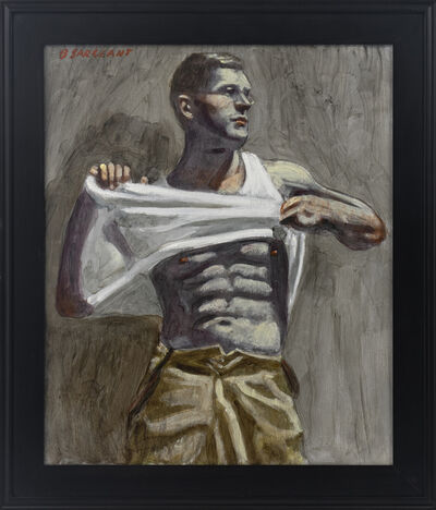 Mark Beard, '[Bruce Sargeant (1898-1938)] Charlie Taking Off His Shirt', n.d.