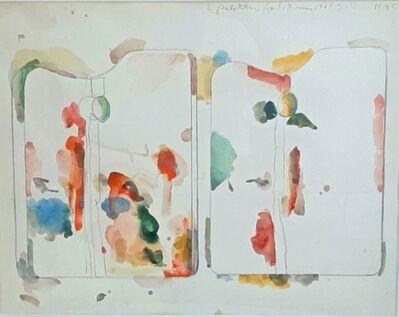 Jim Dine, '2 Palettes for S. Xmas', 1963