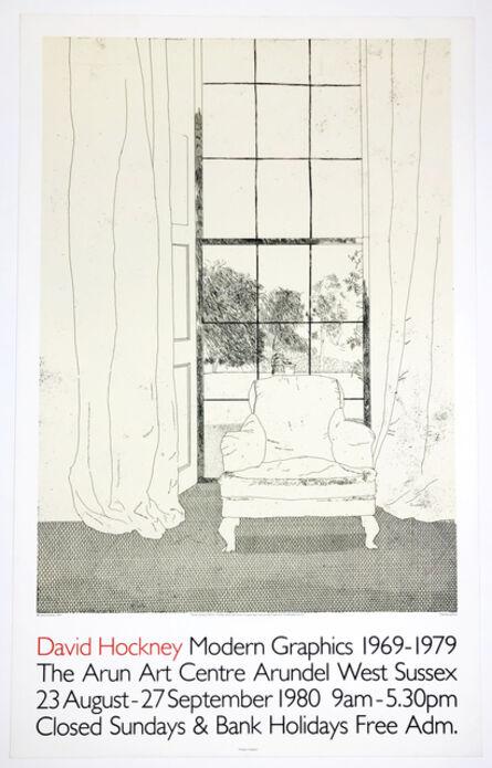 David Hockney, 'Arun Art Centre (Home 1969)', 1980