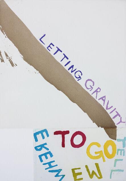 Chris Johanson, 'LETTING GRAVITY TELL ME WHERE TO GO', 2014