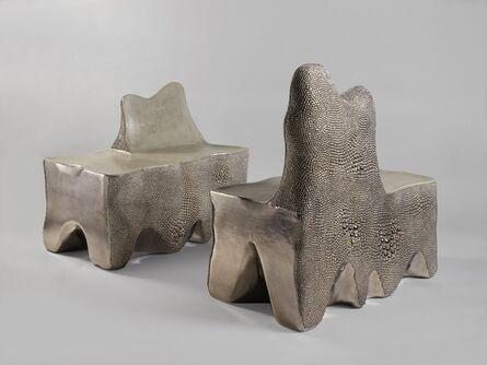 Pia Maria Raeder, ''Stardust Bench' Ensemble', 2019