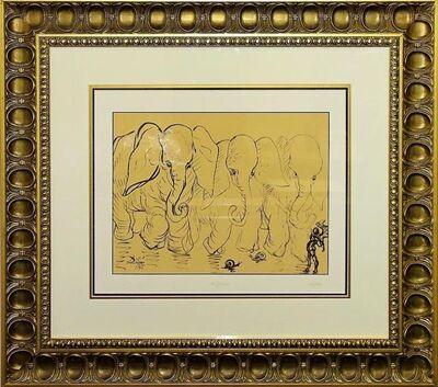 Salvador Dalí, 'Destino 18 (Elephants)', 2006