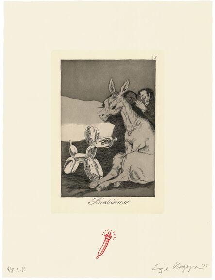 Enrique Chagoya, 'Bravisimo! / Bravissimo!', 2015