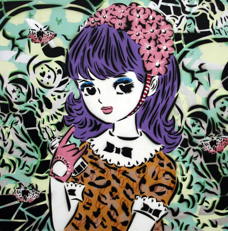 AIKO, 'Girl With Bow In Hair', 2015