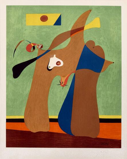 Joan Miró, 'Une Femme', 1958