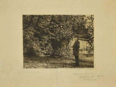Karl Stauffer-Bern, 'Garden ', 1889