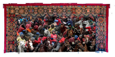 Shaarbek Amankul, 'Nomad Game Kok Boru', 1965-2020