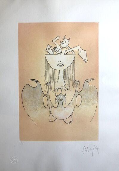 Wifredo Lam, 'La Monde Magique de la Fertilité (The Magic World of Fertility)', 1980