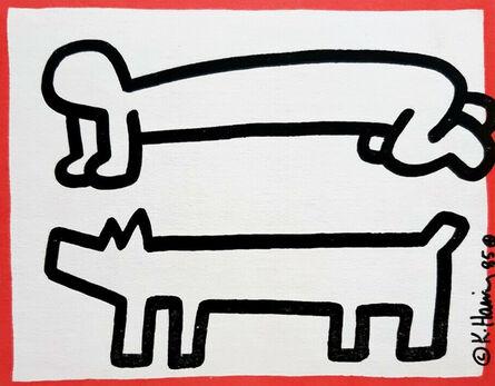 Keith Haring, 'Keith Haring DV8 announcement (Keith Haring San Francisco 1987) ', 1987