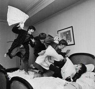 Harry Benson, 'Beatles Pillow Fight, George V Hotel, Paris', 1964