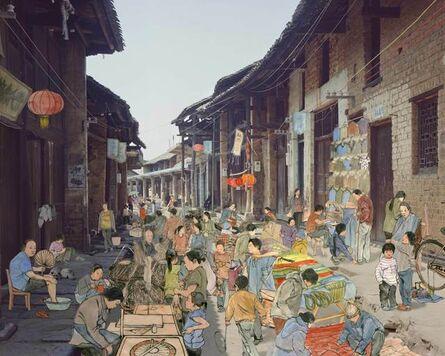 Du Yan Fang, 'Market Gathering', ca. 2013