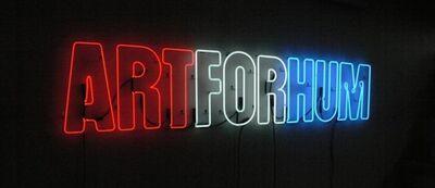 Rafael Ferrer, 'Red, White & Blue ARTFORHUM', 1971/2014