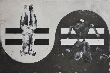 Huang Rui 黄锐, 'Black and White Cats No.6', 2015