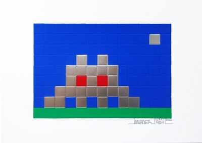 Invader, 'Home Earth', 2010