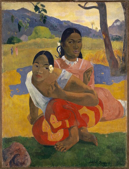 Paul Gauguin, 'Nafea Faa Ipoipo? (When Will You Marry?)', 1892