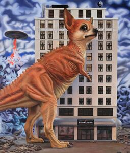 Ron English, 'Chihuahua Rex', 2019