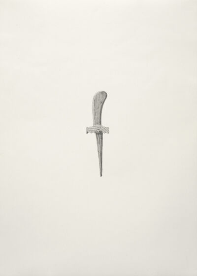 Torsten Richter, 'Wooden sword (Holzshchwert)', 2013