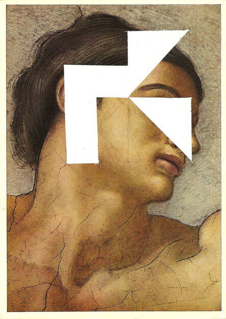 Rodolfo Díaz Cervantes, 'Estudio para permutaciones - postal retratos', 2015