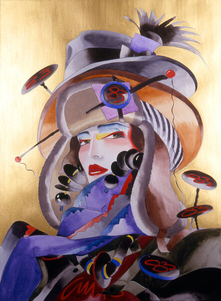 Antonio Lopez, 'Portrait: Maria Snyder', 1987