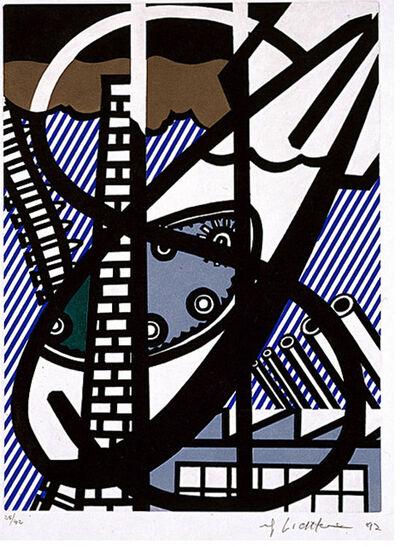 Roy Lichtenstein, 'Une Fenêtre ouverte sur Chicago', 1992