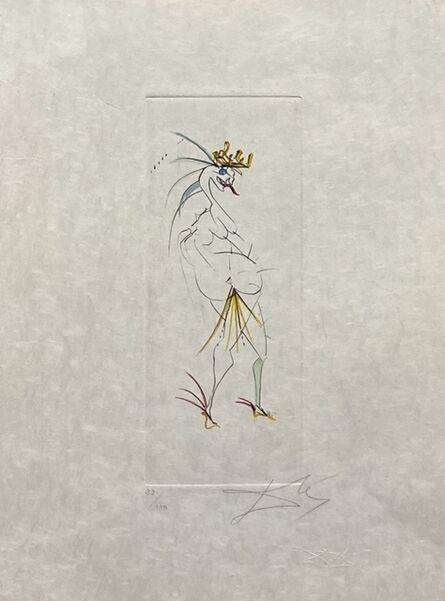 "Salvador Dalí, 'Vignettes of Faust ""Grotesque""', 1968"