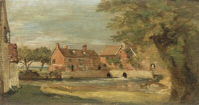 John Constable, 'Flatford Mill', between 1810 and 1811