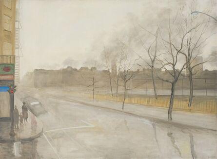 Jane Wilson (1924-2015), 'Rain on Avenue B', 1965