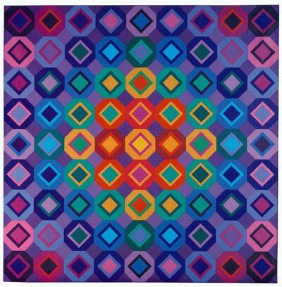 Victor Vasarely, 'Folkokta', 1973