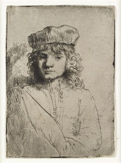 Rembrandt van Rijn, 'The Artist's Son, Titus', 1656