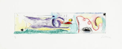 Helen Frankenthaler, 'A Page from a Book I, from This is Not a Book', 1997