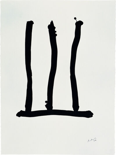 Robert Motherwell, 'Homage à Picasso: Window', 1973