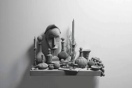 Hans Op de Beeck, 'Still Life (wall piece) (11)', 2019