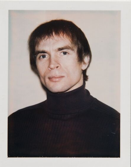 Andy Warhol, 'Andy Warhol, Polaroid Portrait of Rudolf Nureyev', ca. 1971