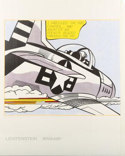 Roy Lichtenstein, 'Whamm!', 1963