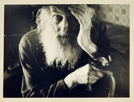 Roman Vishniac, 'Jewish Village Elder, Carpathian Ruthenia, Eastern Europe', ca. 1938