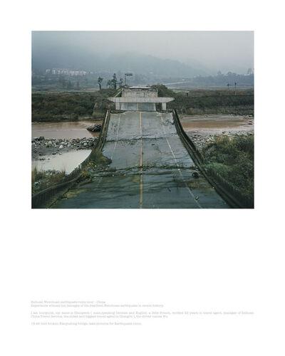 Ambroise Tézenas, 'Wenchuan Sichuan Earthquake Tour, China', 2009