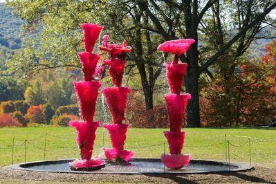 Lynda Benglis, 'Pink Ladies; Pink Lady (For Asha)', 2014