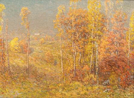 John Joseph Enneking, 'Autumn Landscape', 1905
